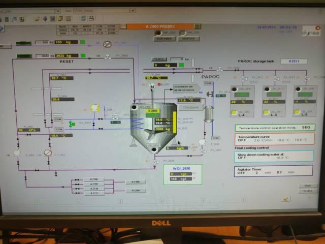 System kontroli produkcji